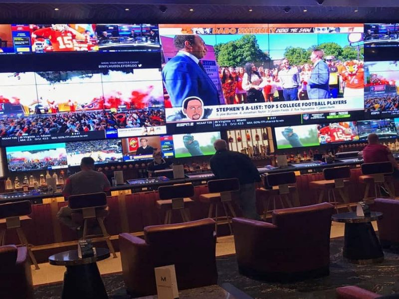 Sports betting in Detroit